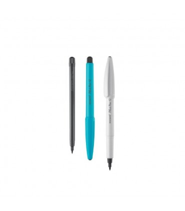 Set liner 12 culori, varf 0.4 mm Plus Pen S MONAMI