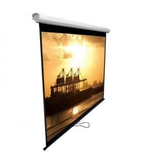 Ecran proiectie manual de perete 200 x 200 cm  MEMOBOARDS
