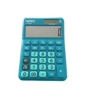 Calculator birou 12 digiti HCS001 albastru NOKI