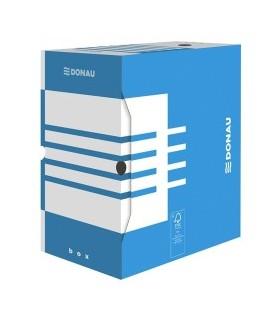 Cutie arhivare 155 mm, albastru/alb, DONAU