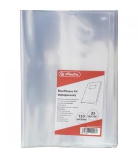 Invelitoare 110 microni, transparenta - Carte 2 HERLITZ