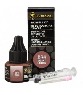 Refil Marker Chameleon BR4 Burnt Umber Ink 25 ml