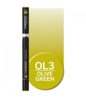 Marker cu schimbare tonalitate Olive Green OL3 CHAMELEON