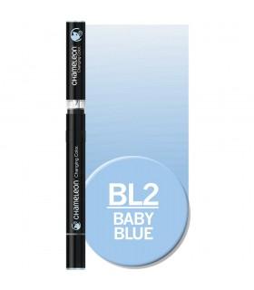 Marker cu tonuri multiple de culoare Baby Blue BL2, CHAMELEON
