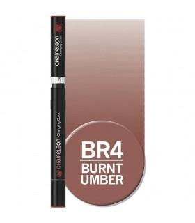 Marker cu tonuri multiple de culoare Burnt Umber BR4, CHAMELEON