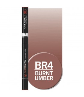 Marker cu schimbare tonalitate Burnt Umber BR4 CHAMELEON