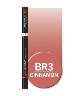 Marker cu tonuri multiple de culoare Cinnamon BR3, CHAMELEON