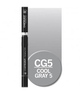 Marker cu tonuri multiple de culoare Cool Grey 5 CG5, CHAMELEON