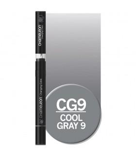 Marker cu tonuri multiple de culoare Cool Grey 9 CG9, CHAMELEON