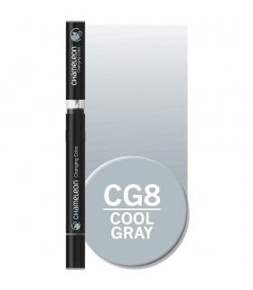 Marker cu tonuri multiple de culoare Cool Grey CG8, CHAMELEON