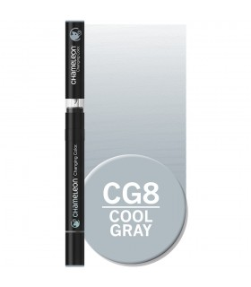 Marker cu schimbare tonalitate Cool Grey CG8, CHAMELEON