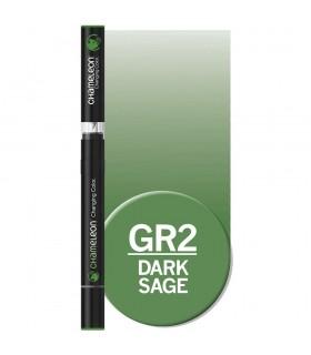 Marker cu schimbare tonalitate Dark Sage GR2 CHAMELEON