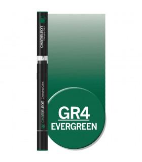 Marker cu tonuri multiple de culoare Evergreen GR4, CHAMELEON