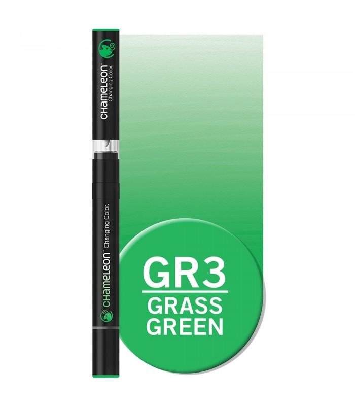 Marker cu schimbare tonalitate Grass Green GR3 CHAMELEON