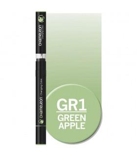 Marker cu schimbare tonalitate Green Apple GR1 CHAMELEON