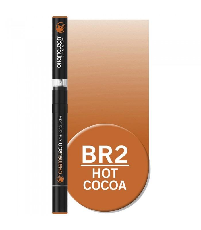 Marker cu schimbare tonalitate Hot Cocoa BR2 CHAMELEON