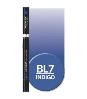 Marker cu schimbare tonalitate Indigo BL7 CHAMELEON