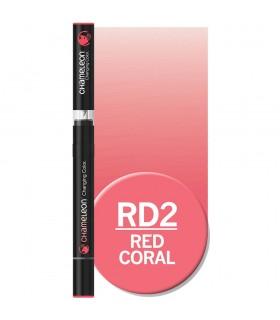 Marker cu schimbare tonalitate Red Coral RD2, CHAMELEON