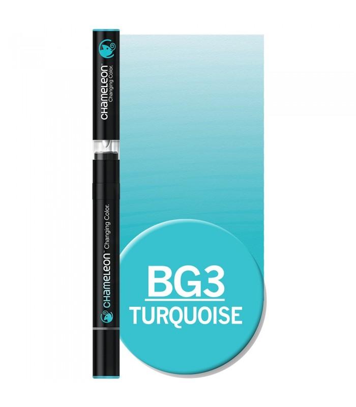 Marker cu schimbare tonalitate Turquoise BG3 CHAMELEON