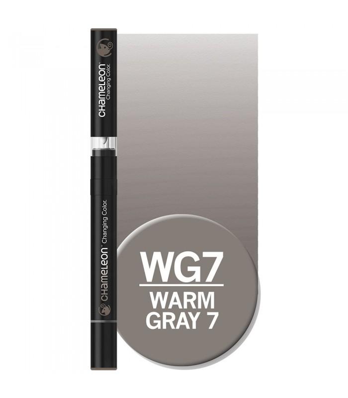 Marker cu schimbare tonalitate Warm Grey 7 WG7 CHAMELEON