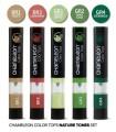Set 5 nuantatoare de culoare pentru markerele Chameleon Color Tops Nature