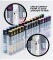Marker Color Tops Pastel, 5/set, CHAMELEON