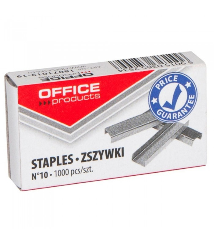 Capse nr. 10, 10/5, 1000 buc/cutie OFFICE PRODUCTS