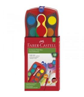 Acuarele Connector 12 culori FABER-CASTELL