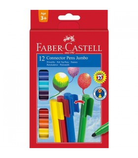 Set carioci Connector Jumbo FABER-CASTELL