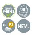 Capsator metalic, 30 coli, capsare plata, model 5505 NeXXt Series LEITZ