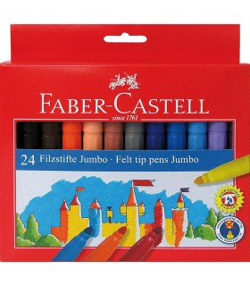 Carioca Jumbo 24 culori FABER-CASTELL