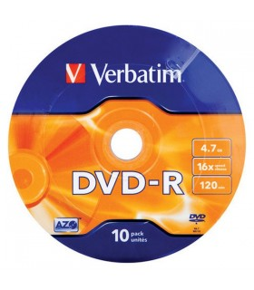 DVD-R Printabil 10 buc/bulk VERBATIM