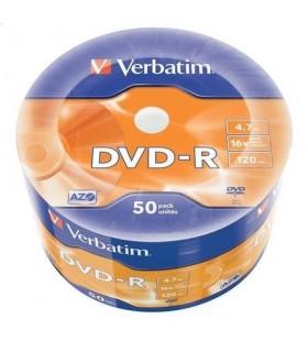 DVD-R Printabil 50 buc/bulk VERBATIM