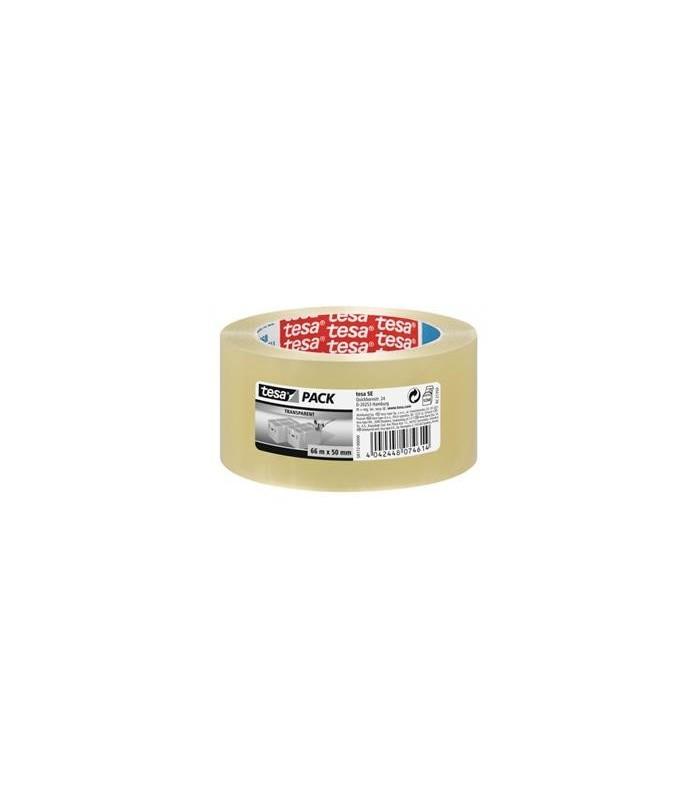 Banda adeziva 66 m x 48 mm, adeziv cauciuc natural, TESA