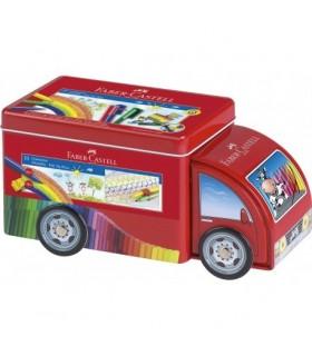 Carioci cu clip 33 culori Camion Connector FABER-CASTELL