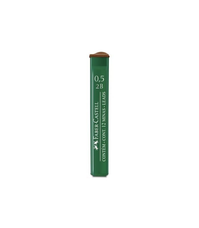 Mina creion diverse grade duritate, varf 0.5 mm Polymer FABER - CASTELL