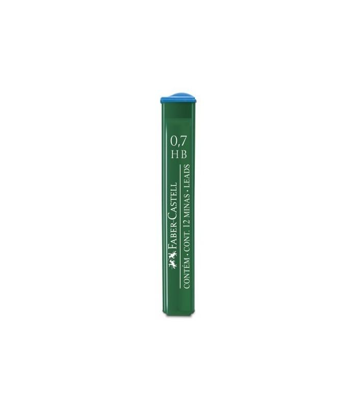 Mina creion diverse grade duritate, varf 0.7 mm Polymer FABER - CASTELL