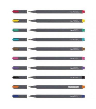 Liner diverse culori, varf  0.4 mm ADEL