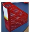 Suport documente vertical, plastic, culori diverse, KEJEA