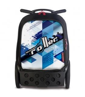 Ghiozdan XL Cool Blue Roller NIKIDOM