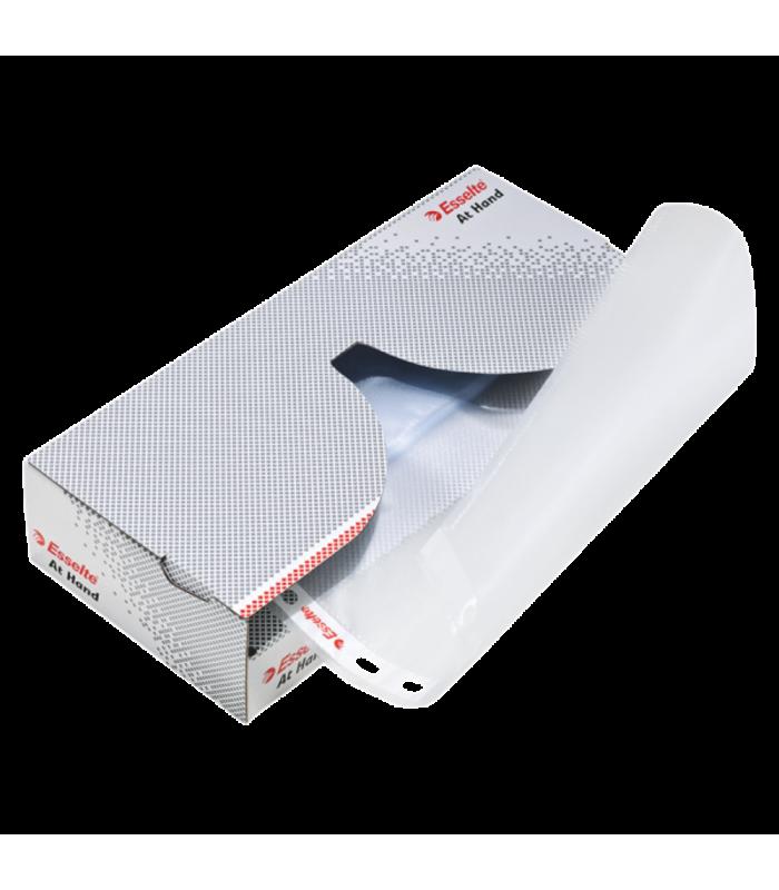 Dispenser cu folii de protectie A4, standard, 43 microni, ESSELTE
