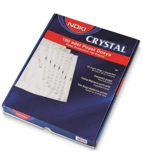 Folie de protectie A4, cristal, 90 microni, 100/set NOKI