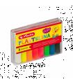 Plastilină set 8 culori fluorescente HERLITZ