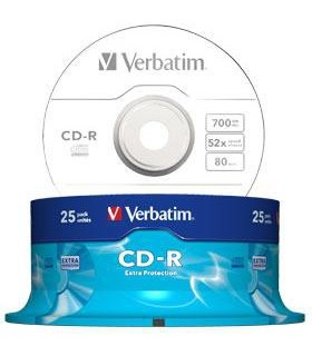 CD-R 52X 700MB VERBATIM