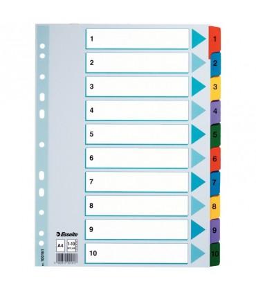 Index carton color, Mylar ESSELTE