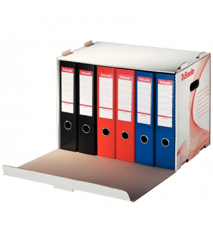 Container arhivare bibliorafturi, deschidere frontala, Standard ESSELTE