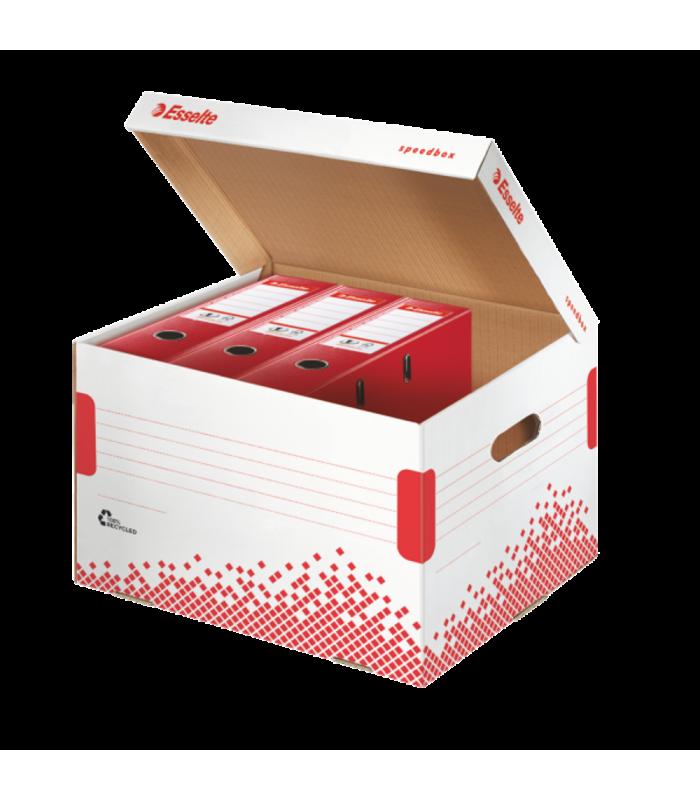 Container de arhivare pentru bibliorafturi Speedbox ESSELTE
