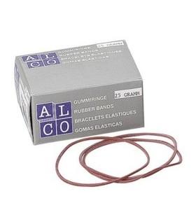 Elastice pentru bani, 500 g/cutie, D 85 x 1,5 mm, ALCO