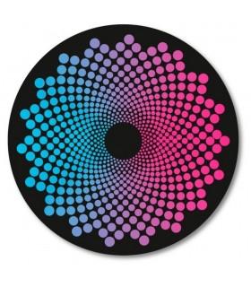 Abtibilduri roti 2 bucati/set Dots Roller NIKIDOM