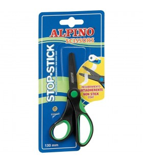 Foarfeca 13 cm cu rubber grip ALPINO Stop Stick